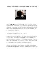 Tư duy tích cực hay Câu chuyện về Nửa cốc nước đầy
