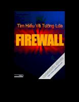 Tìm hiểu về tường lửa Firewwall