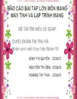 Bài giảng SOAP new