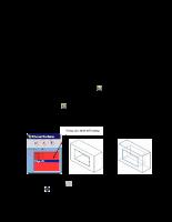 Xây dựng mô hình mặt (Surface).