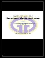 Tính toán động cơ đốt trong - Trần Thanh Hải T&.pdf