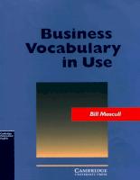 Cambridge - Business Vocabulary in Use.pdf
