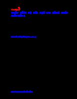 Kỹ thuật xử lý tín hiệu số chương 3.pdf
