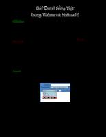 Hướng dẫn sử dụng Email