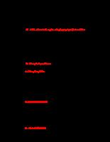 trắc nghiệm về polysaccharide