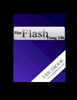 Học Flash trong 24h