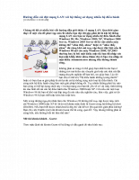 Hướng dẫn cài đặt mạng lan với hệ thống sử dụng nhiều hệ điều hành