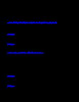 Đề kiểm tra trắc nghiệm PLĐC