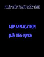 Lớp ứng dụng Application