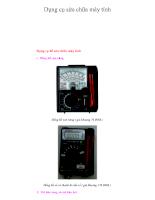 Chuowng16-Dụng cụ sửa chữa máy vi tính