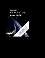 Truy cập cơ sở dữ liệu bằng web