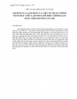 TIỂU LUẬN MÔN KINH TẾ VĨ MÔ - Copy.doc