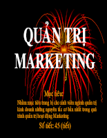 Slide bài giảng quản trị marketingslide1-4 chinh quy Sep2008 .ppt
