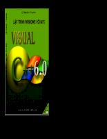 Visual C++ lý thuyết và ứng dụng