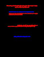 Bảng câu hỏi phân tích công việc để xác định nhiệm vụ của một công việc mới