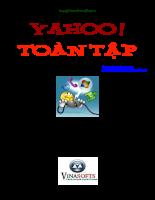 Tài liệu hướng dẫn sử dụng Yahoo toàn tập