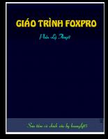 Lý thuyết Foxpro