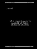 TỔNG QUAN VỀ MẠNG VÀ CÁC DỊCH VỤ THÔNG DỤNGTRÊN INTERNET.doc