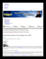 Hướng dẫn chia sẻ email