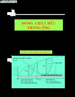 Tài liệu về dòng chảy đều trong ống.pdf