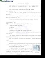 Giáo trình sửa chữa cơ cấu trục khuỷu - thanh truyền.pdf