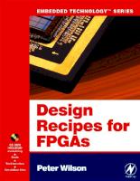 Decipes For FPGA