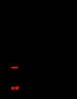 Bài tập phân phối xác suất liên tục và phân phối mẫu
