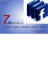 Những hiệu ứng hay trên trang Page của facebook