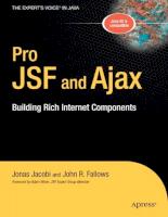 Apress Pro JS Fand Ajax Building Rich Internet Compon