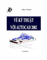 Vẽ kỹ thuật với AutoCAD 2002