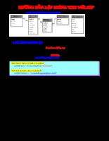 Hướng dẫn lập trình web với ASP
