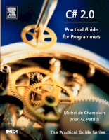 C Sharp 2.0 Practical Guide For Programmers