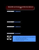 Lâp kế hoạch và lịch trình thực hiện dự án ODA