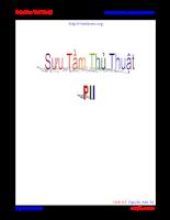 Thủ thuật hướng dẫn phần mềm PII