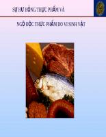 Ngộ độc thực phẩm do vi sinh vật