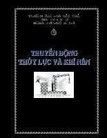 Bài giảng truyền động thủy lực và khí nén - Đại học Cần Thơ.pdf