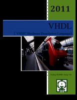 Ngôn ngữ mô tả phần cứng với VHDL