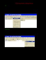 Sử dụng Menu trong Visual Basic