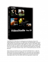 VideoStudio Pro X3 kicks the movie making process into high gear