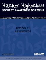 Làm sao để hack passwords nguyên lý cơ bản