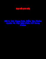 Các dạng toán kiểm tra nhóm Cyclic và cấp một phần tử trong nhóm.pdf