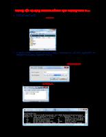 Lập trình biên dịch trong CPP Edit Plus