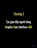 Lập trình GUI trong java