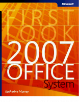 First look 2007 Microsoft Office System P1