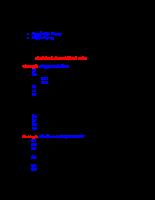 Tìm hiểu về JDBC và kết nối CSDL.doc