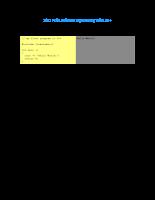 Hướng dẫn lập trình sử dụng C++
