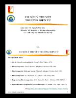 Bài giảng Lý thuyết trường điện từ.pdf