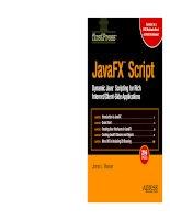 Java FX Script