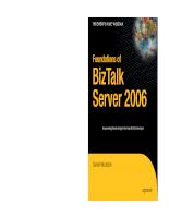 Foundation of BizTalk Server 2006