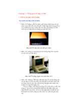 Chương 1-Tổng quan về máy vi tính